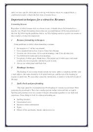 Resume Margins Magnificent Resume Margins 28 Aesthetics Fonts And Paper Selection Guidelines