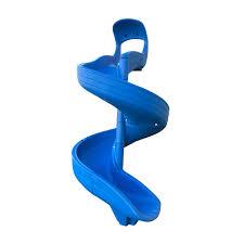 7 ft Super Open Spiral Slide