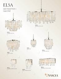 vaxcel elsa capiz shell capiz shell pendant light crystal pendant lighting