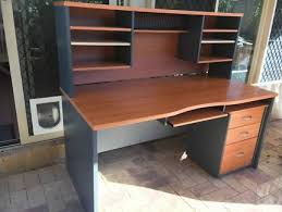 office desk with shelf. Interesting Desk Home OfficeStudy Desk U0026 Hutch With Filing Cabinet Drawers And Office With Shelf