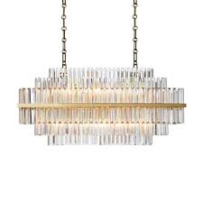 linear crystal chandelier. Roll Over Image To Zoom Linear Crystal Chandelier L