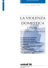 un study on violence against children violenza domestica contro le donne e le bambine