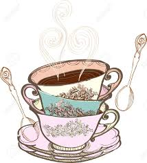vintage tea cups vector. Wonderful Tea And Vintage Tea Cups Vector I