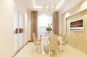 Design Rendering 3d French Neo Classical Dining Room Interior Design