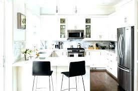 small white kitchens.  Small White Kitchen Stools Black  Full Size Of Small Counter Throughout Kitchens