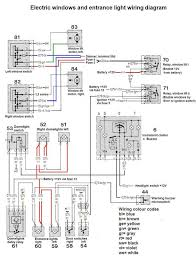 1975 r107 electric window problem mercedes benz forum click image for larger version electric windows and courtesy light wiring diagram jpg