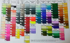 Spectrum Noir Marker Chart 30 Explicit Spectrum Noir Chart