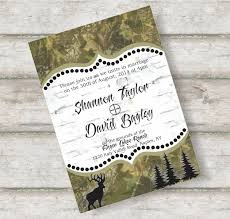 Camo Wedding Invitations Template | Best Template Collection