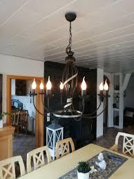 Decken Kronleuchter Rustikal Modern Lampe 17540nequ82496