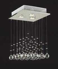 saint mossi chandelier modern k69 crystal raindrop chandelier