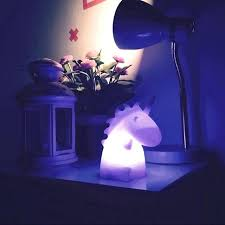 kids night lamp night lights baby nursery kids lamp with nightlight cute baby bedroom unicorn lamps