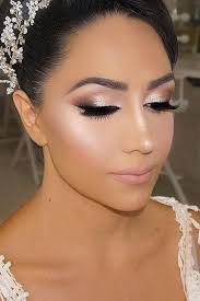 36 bright wedding makeup ideas for brunettes wedding beauty wedding makeup makeup and bridal makeup
