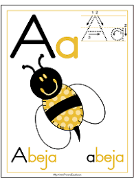 The best free set of alphabet worksheets you will find! Spanish Alphabet Coloring Pages Posters And Handwriting Worksheets