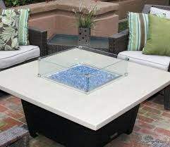 custom 3 clamped tempered glass wind screen for any fire pit guard round