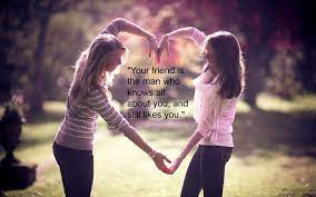 Cute Friendship Wallpapers - Top Free ...