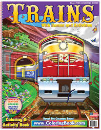 Here presented 49+ train car drawing images for free to download, print or share. Trains Really Big Coloring Book Coloring Books