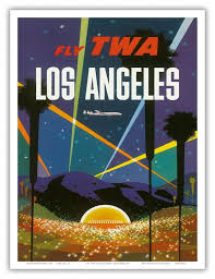 Small Picture Aliexpresscom Buy Los Angeles TWA Airlines Travel Landscape