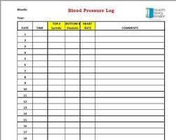 Blood Pressure Chart Pdf Printable Blood Pressure Chart With Editable Pdf Form