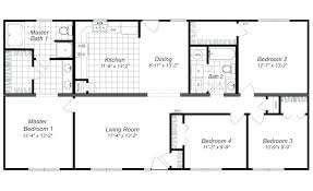 four bedroom house floor plans modern design 4 bedroom house floor plans four bedroom home plans