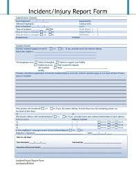Construction Accident Report Template Professional Templates For ...