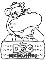Doc Mcstuffins Coloring Pages Get Coloring Pages