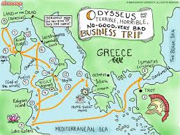the odyssey click the map infographic to