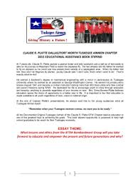 tuskegee airmen project claude r platte dallas fort worth tuskegee airmen