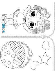 Babydoll Da Colorare Lol Surprise Serie 3 Cartoni Animati