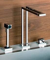 Gessi Duplice Faucets New Unusual Geometric Faucet Designs Enchanting Kitchen Faucet Design