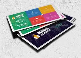 Kid Business Card Template 29 Kids Business Cards Psd Ai Eps Vector