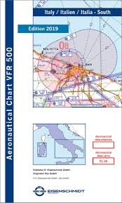Charts Italien Vfr 500 Chart Italy South