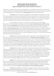 critical essay samples examples of reader response essays example of reader response essays