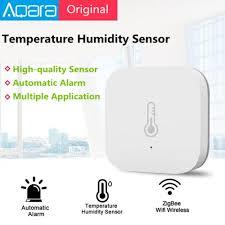 Automatic Alarm Xiaomi <b>Aqara</b> Temperature Humidity Sensor <b>Smart</b> ...