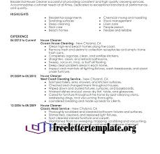 Cleaner Resume Examples Home Cleansing Resume Home Cleansing Resume Gorgeous House Cleaning Resume