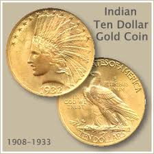 Dollar Coin Value Chart Indian Ten Dollar Gold Coin A Trail Of Money Coins