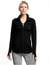 full zip compression jacket for women
