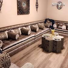 floor seating.  Seating Style 3 Fabric Brown Color Arabic Majlis Sofa Floor Seating To Floor Seating P