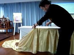 Skirt , Making basic table skirt