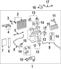 parts com® lexus ls460 blower motor fan oem parts 2007 lexus ls460 base v8 4 6 liter gas blower motor fan