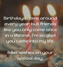 Birthday Quotes For Friend Stunning Friend Birthday Quotes Birthday Wishes And Images For Friend