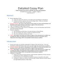 extended essay in group english category outlines  extended essay plan dreams and visions in macbeth and crime and punishment