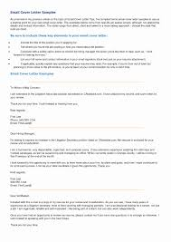 Emailing Cover Letter And Resume Emailing Resume And Cover Letter Awesome Examples Email Cover 15