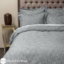 grey textured duvet cover quilt