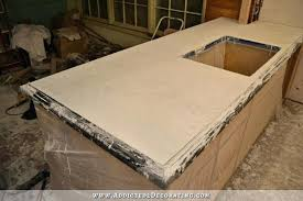 making concrete countertops pour in place concrete part 2 making concrete countertops look like marble