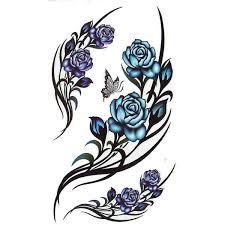 Karnevalové Tetování Růže