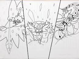 Decidueye Pokemon Coloring Page