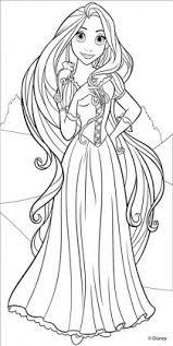 Bellissima Rapunzel Disegni Da Colorare Gratis Coloring Pages