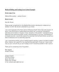 cover letter for medical billing sample cover letter for medical billing and coding writing a cover