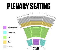 Plenary Seating Chart Arnold Sports Festival 2018 Vip Packages