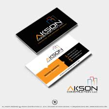 Remodeling And Design Business 001 Construction Visiting Card Templates Template Ideas
